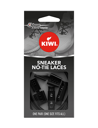Kiwi Sneaker no tie laces black
