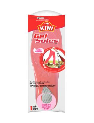 Semelles en gel pleine longueur pour femme KIWI®