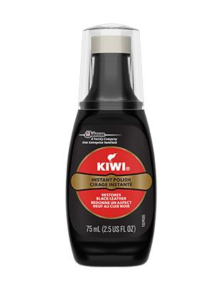 KIWI® Instant Wax Shine Black