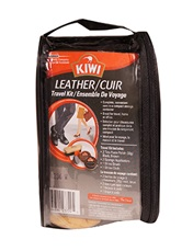 KIWI® Leather Travel Kit