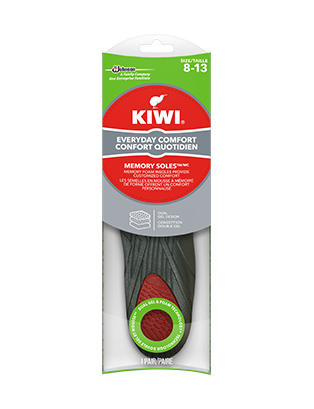 KIWI® Memory Soft Trim to Fit Insoles for Men