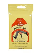 KIWI® Express Shine™: Clean & Shine Wipes