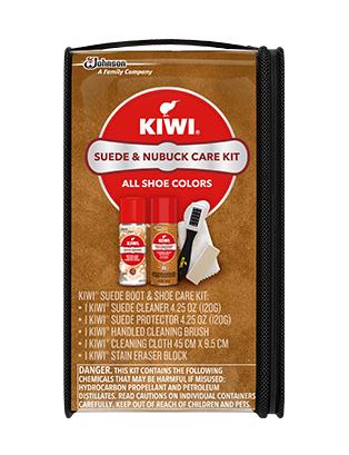 KIWI® Suede & Nubuck Boot & Shoe Care Kit