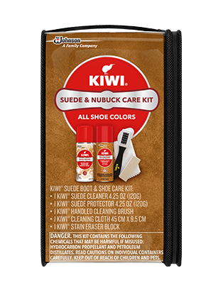 KIWI® Suede & Nubuck Boot & Shoe Care Kit