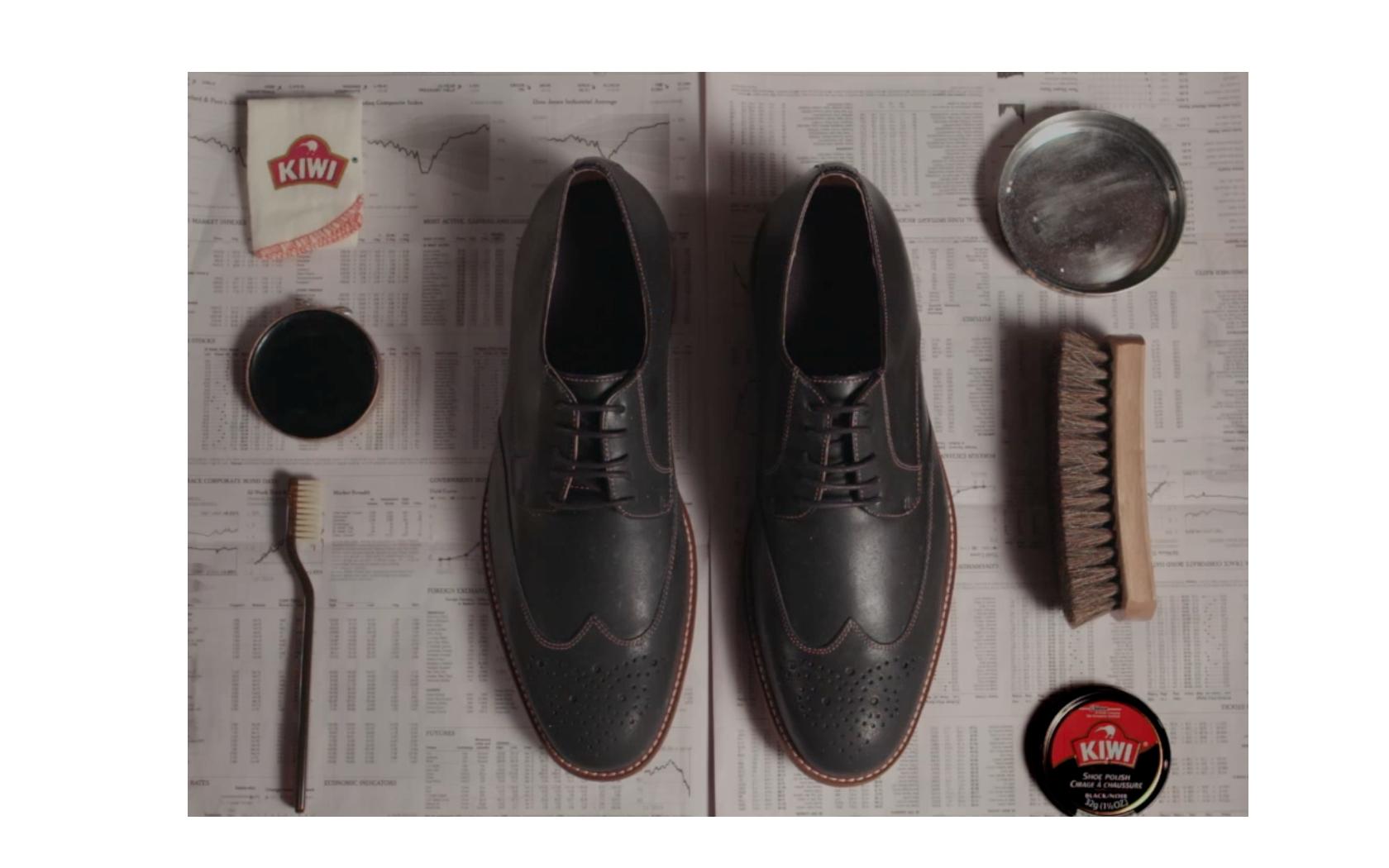 Cách đánh xi bóng giày da