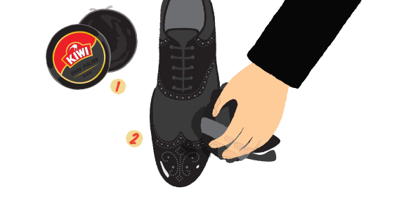 kiwi shoe care tip